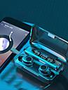 F9-30 TWSワイヤレスイヤホンBluetooth 5.0ヘッドフォン、2000mAh電源バンク9Dステレオ