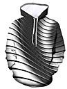 Herre Hattetrøje Grafisk Hætte Daglig I-byen-tøj Basale Afslappet Hættetrøjer Sweatshirts Sort