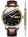 mens brown leather watch for men calendar 2020 waterproof black mens watches inexpensive great analog quartz wrist watches for men christmas gifts watch