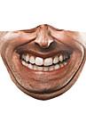 Obličejový kryt Pánské Polyester Jedna velikost Béžová 1ks / balení Dospělí Proti UV-záření Denní Základní Celý rok