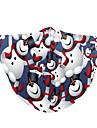 Obličejový kryt Pánské Polyester Jedna velikost Bílá 1ks / balení Dospělí Proti UV-záření Denní Punk & Gothic Celý rok