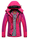 Women\'s Hiking Jacket Hiking Windbreaker Winter Outdoor Patchwork Thermal Warm Waterproof Windproof Breathable Jacket Hunting Ski / Snowboard Fishing Red / Fuchsia / Blue / Green / Quick Dry
