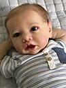 22 tum Reborn-dockor Baby- och småbarnsleksak Babypojkar Reborn Baby Doll Saskia levande Handgjord Simulering Hand Applied Eyelashes Floppy Head Duk Silikon Vinyl med kläder och accessoarer för