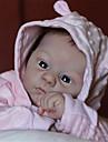 21 tum Reborn-dockor Baby- och småbarnsleksak Babyflickor Reborn Baby Doll Harlow Nyfödd levande Handgjord Simulering Duk Silikon Vinyl med kläder och accessoarer för flickors födelsedags- och
