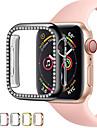 diamantový kryt pouzdra pro hodinky Apple řady 6 se 5 4 3 2 kryt pouzdra 44mm 40mm 42mm 38mm příslušenství iwatch pouzdra ochranný nárazník