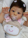 21 tum Reborn-dockor Baby- och småbarnsleksak Babyflickor Reborn Baby Doll Harlow Nyfödd levande Handgjord Simulering Floppy Head Duk Silikon Vinyl med kläder och accessoarer för flickors