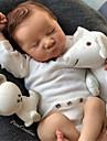 20 tum Reborn-dockor Baby- och småbarnsleksak Reborn Baby Doll Levi Nyfödd levande Handgjord Simulering Floppy Head Duk Silikon Vinyl med kläder och accessoarer för flickors födelsedags- och