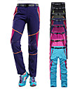 Women\'s Hiking Pants Patchwork Summer Outdoor Waterproof Windproof UV Resistant Breathable Pants / Trousers Bottoms Pink / Purple Black Purple Fuchsia Sky Blue Camping / Hiking Hunting Ski / Snowboard