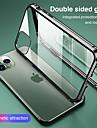 capa magnetica para iphone 11 clear 360 protecao de vidro dupla face transparente a prova de choque capa simples para celular capa protetora para iphone xr / se2020 / 11promax / 11pro / xsmax / xs / 6