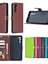 telefon Etui Til OnePlus Fuldt etui Læder æske Flip Etui OnePlus 8 Pro OnePlus 7T Oneplus 7 OnePlus 7T Pro OnePlus 5T OnePlus 6 en plus 7T OnePlus Nord Kortholder Stødsikker Vend Helfarve PU Læder TPU