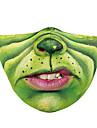 Obličejový kryt Pánské Polyester Jedna velikost Trávová zelená 1ks / balení Dospělí Proti UV-záření Denní Punk & Gothic Celý rok
