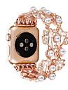Watch kapela pro Apple Watch Series 6 / SE / 5/4 44 mm / Apple Watch Series 6 / SE / 5/4 40 mm / Řada Apple Watch 3/2/1 38 mm Apple Design šperků Nerez Poutko na zápěstí