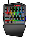 35 Buttons Gaming Keyboard Mechanical Keyboard Backlight Gaming Key-Pad Mobile Phones Game Accessories for gamer