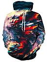 ユニセックスクールパーカー3Dデジタルプリントフード付きジャケット男性用女性用クリスマスプルオーバースウェットシャツ小