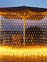 Christmas Net Lights Connectable 6M*4M  720 LED 8 Modes Low Voltage Mesh Fairy String Lights Net String Christmas Lights for Garden Bushes Wedding Xmas Tree Decorations
