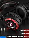 fones de ouvido gaming gamer 5.1 surround sound estereo com fio fones de ouvido usb microfone colorido light pc laptop game headset
