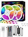 LED Strip Lights 32.8ft-10M RGB Strip 5050 30LED/M 2835 60/M 10mm Tape Lights Color Changing LED Strip Lights with Remote for Home Lighting Kitchen Bed Flexible Strip Lights for Bar Home Decoration