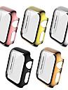 pouzdra pro Apple Watch Series 6 / SE / 5/4 44mm / Apple Watch Series 6 / SE / 5/4 40mm Plast / tvrzené sklo Kompatibilita Apple
