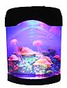 Jellyfish Tank Marine World Swimming Mood Light LED Colorful Aquarium Night Lights Children\'s Lamp Decorative Lights