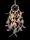 Dreamcatcher Feather Wind Chimes with LED Night Light Bedroom Décor Ornaments Dream Catcher Romantic Decorating Lights for Living Room Bedroom Christmas New Year Decoration