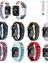 Watch kapela pro Apple Watch Series 6 / SE / 5/4 44 mm / Apple Watch Series 6 / SE / 5/4 40 mm / Řada Apple Watch 3/2/1 38 mm Apple Sportovní značka Silikon Poutko na zápěstí