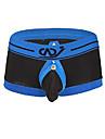 سراويل داخلية للرجال من بوكسر ملتوية الحقيبة سراويل داخلية منتفخة الحقيبة حزام رياضي