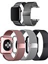 řemínek na hodinky pro Apple Watch Series 6 / SE / 5/4 44mm / Apple Watch Series 6 / SE / 5/4 40mm / Apple Watch Series 3/2/1 38mm Apple Milanese Loop nerezový řemínek na zápěstí (1ks)