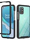 Case For OnePlus 8 / OnePlus 8 Pro / OnePlus 8T / OnePlus Nord Shockproof Dustproof Back Cover Transparent Solid Colored TPU PC