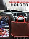 univerzální boční organizér autosedačky síťovaný auto vnitřní cestovní držák závěsná taška nastavitelná úložná kapsa na kabelky tašky dokumenty telefon cennosti