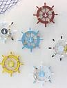 středomořská loď kormidlo ornament nástěnná dekorace kormidelník dřevěná dekorace