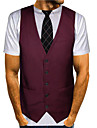 Men\'s Tee T shirt Shirt 3D Print Graphic 3D Print Short Sleeve Going out Tops Streetwear Punk & Gothic Round Neck Purple Yellow Wine / Summer / Club