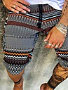 Pánské Kraťasy Oblečení na atletiku Prodyšné Venkovní Kalhoty chinos Volné Ležérní Kalhoty Grafické tisky Krátký Tisk 1 2 3 4 5 / Léto