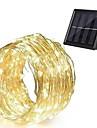 Outdoor Solar String Light LED Solar String Lights 24M 240 LEDs Set Outdoor Waterproof Warm White Thanksgiving Day Birthday Wedding Patio Party Solar Powered 2V LED Solar Garden Light