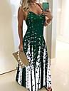 Women\'s A Line Dress Maxi long Dress Sleeveless Floral Print Geometic Spring Summer V Neck Casual Holiday 2021 S M L XL XXL 3XL 4XL 5XL