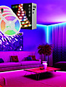 LED Strip Lights Music Sync Timed Remote Waterproof 20M(4x5M) RGB Tiktok Lights 5050 SMD Flexible 600 LEDs IR 40 Key Controller with Installation Package 12V 8A Adapter Kit