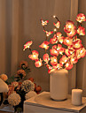 LED Phalaenopsis Branch Lamp 20 Bulbs Simulation Orchid Branch LED Fairy Lights Willow Twig Light Branch Mother\'s Day for Home Garden Decoration