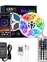 LED Strip Lights RGB Bluetooth Smart Phone Controlled 5M 10M 15M 20M LED Light Strip 5050 LED Lights Sync to Music and 44 Keys Remote Controller for Bedroom Home TV Back Lights