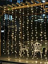 Solar LED String light Outdoor Fairy Lights Garland for Window Christmas Light Decoration 3x3M for Patio Garden Curtain Rooftop Lamp