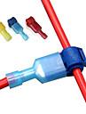 240 шт. Водонепроницаемый электрический разъем провод клемма электрический провод быстроразъемные соединители защелкивающийся разъем сращивание замок защелкивающийся провод разъем