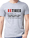 Men's Unisex Tee T shirt Hot Stamping Graphic Prints Letter Plus Size Print Short Sleeve Casual Tops Cotton Basic Designer Big and Tall Light gray