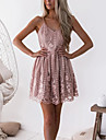 Women\'s Strap Dress Short Mini Dress Blushing Pink Sleeveless Solid Color Summer Casual 2021 S M L XL