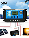 Solar Charge Controller for Lead-Acid Batteries with LCD and Auto Output Regulator 50A 12V 24V Solar Charge Controller not for Lithium