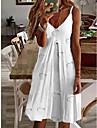 Women\'s Strap Dress Short Mini Dress pineapple Flowers feather Love Sleeveless Flower Fruit Spring Summer Fruit Casual 2021 S M L XL XXL XXXL 4XL 5XL