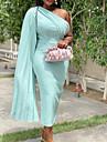 Women\'s Wrap Dress Maxi long Dress Light Blue Royal Blue Black Red Sleeveless Solid Color Summer Formal 2021 S M L XL XXL XXXL