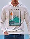 Men\'s Unisex Hoodie Graphic Prints Landscape Print Casual Daily Hot Stamping Basic Designer Hoodies Sweatshirts  White