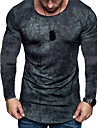 Męskie Dla obu płci Koszulki Podkoszulek Koszula Druk 3D Wzory graficzne Wykonanie Nadruk Długi rękaw Codzienny Najfatalniejszy Codzienny Designerskie Duży i wysoki Niebieski Szary Czerwony