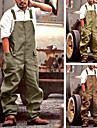 Herr Ledig / Sportig Streetwear Komfort Utomhus Overall Sparkbyxor Ledigt Dagligen Byxor Solid färg Fullängd Klassisk ArmyGreen Grön Brun