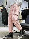 Ανδρικά Κλασσικό στυλ Θέση Για Υπαίθρια Χρήση Αθλητικό Παντελόνια Φορέματα φορτίου Βαμβάκι Causal Καθημερινά Παντελόνι Συμπαγές Χρώμα Πλήρες μήκος Κλασσικό Πολλαπλές τσέπες