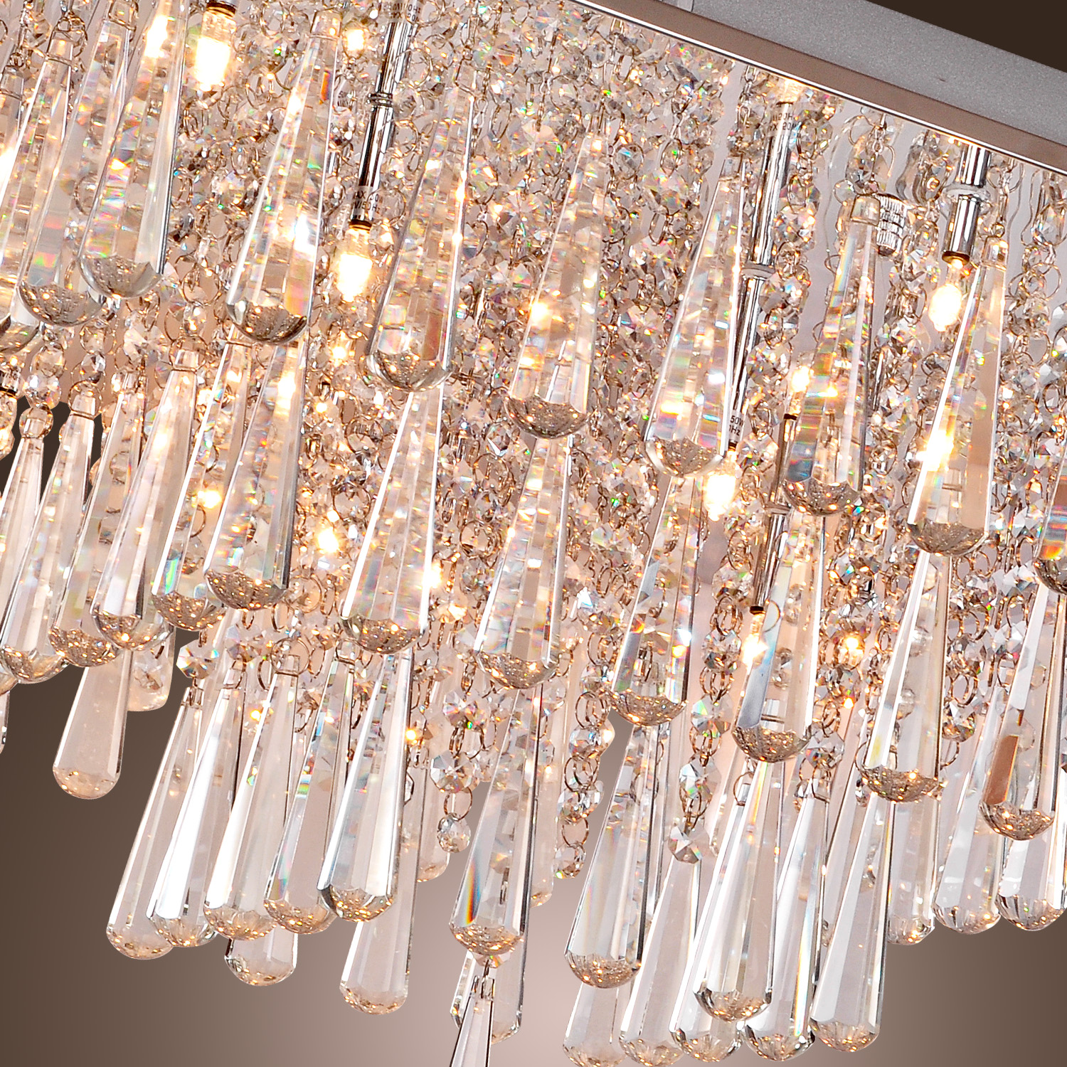crystal flush mount chandelier. Flush Mount Lamp Living Room Bedroom Crystal Chandelier Modern Ceiling Light | EBay