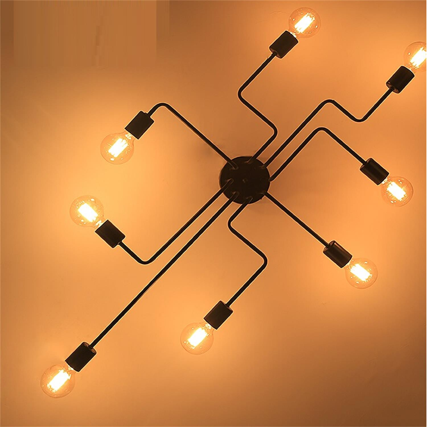 superior satin brass spider glass chandelier eight decaso arm product and
